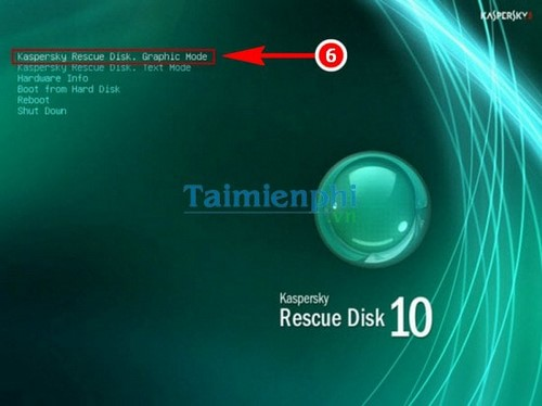 Directing to build USB Kaspersky rescue disk diet computer virus