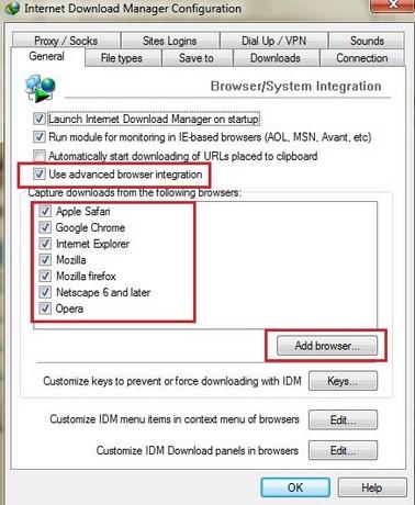 cai idm cc cho trinh duyet Firefox 47