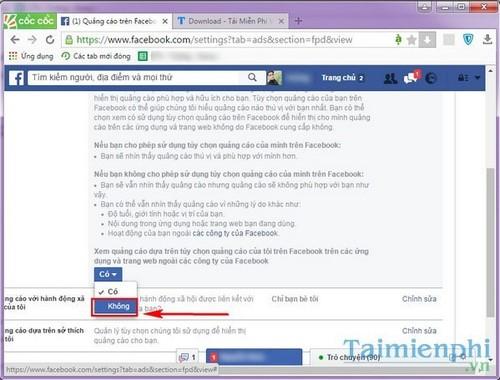 Ngăn chặn Facebook thu thập thông tin người dùng để quảng cáo