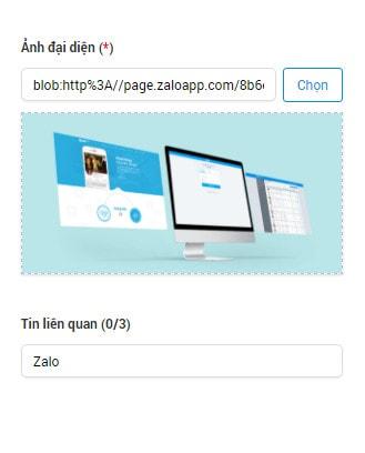 Cách đăng bài trên Zalo Page 6