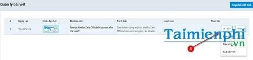Cách đăng bài trên Zalo Page 7