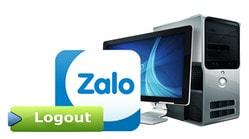 Hướng dẫn thoát Zalo trên máy tính