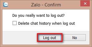 Hướng dẫn thoát Zalo trên máy tính 5