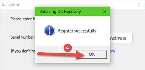(Giveaway) Bản quyền Amazing Dr. Recovery, Phục hồi dữ liệu từ 14/6