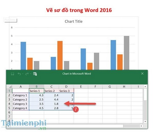 ve so do trong word 2016
