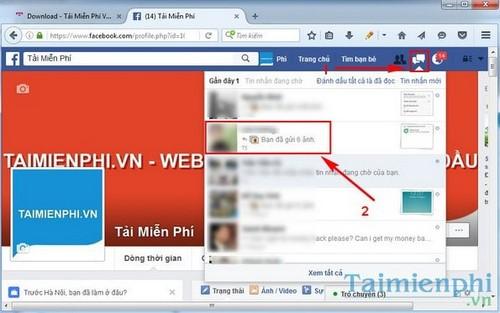 Gửi File cho bạn chat trên Facebook
