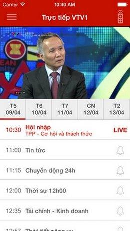 ung dung xem tivi trên Android