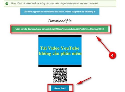 Cách tải video, nhạc YouTube bằng Anything2mp3