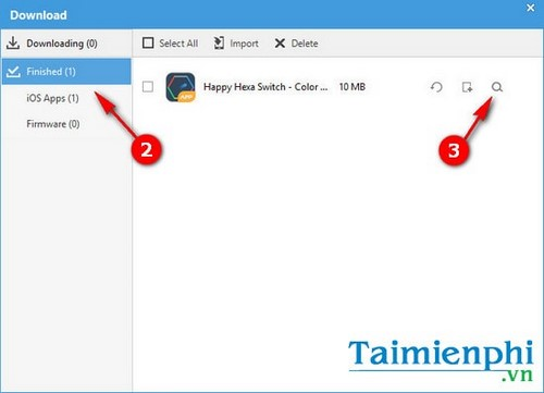huong dan doi folder download ung dung tren itools