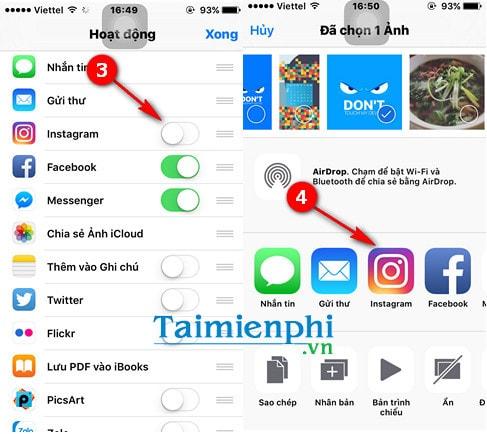 Cách đăng ảnh lên Instagram, tải ảnh lên Instagram qua điện thoại iPhone, Android, máy tính 2