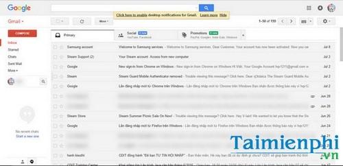 su dung email tren trinh duyet opera