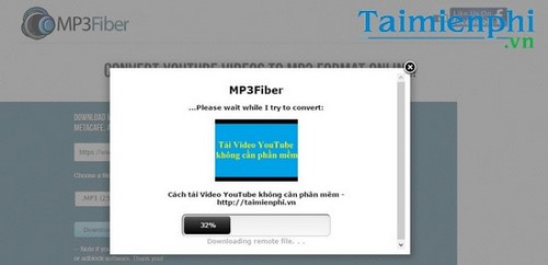 huong dan tai video nhac youtube bang mp3fiber
