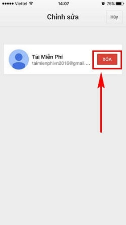 thu thuat thoat gmail sign out gmail tren may tinh dien thoai