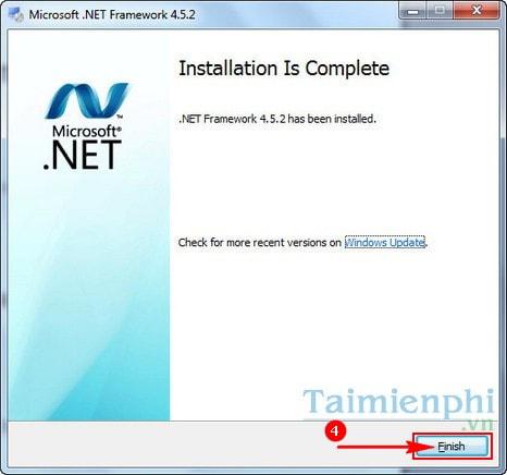 Cài net framework 4.0 cho máy tính