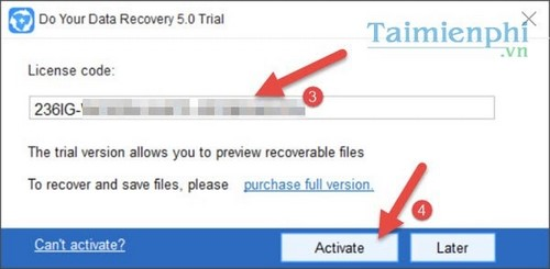 giveaway do your data recovery mien Phi