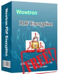 giveaway wowtron pdf encryption mien phi