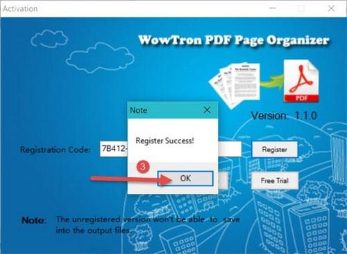 wowtron giveaway pdf page organizer free
