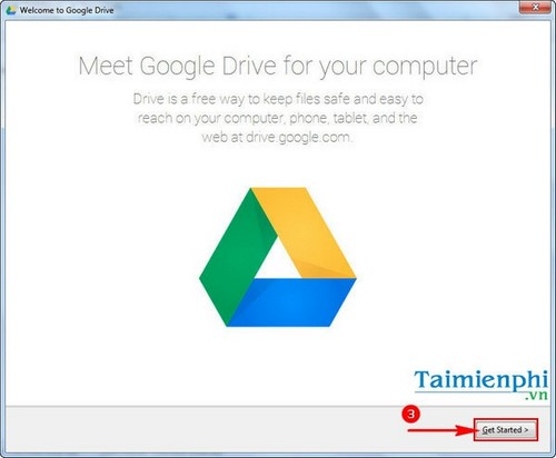 Hướng dẫn cài đặt Google Drive 4