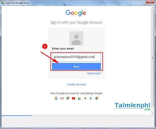 Hướng dẫn cài đặt Google Drive 5
