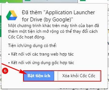 Hướng dẫn cài đặt Google Drive 7