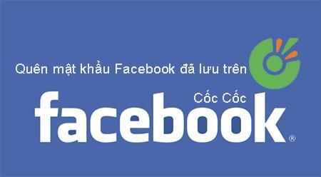 quen mat khau facebok da lu tren coc coc