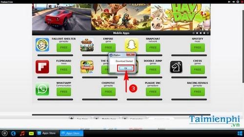 Hướng dẫn sử dụng iPadian trên máy tính, giả lập iOS, chạy app iOS trên Windows 3