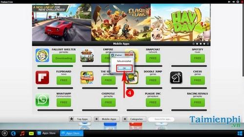 Hướng dẫn sử dụng iPadian trên máy tính, giả lập iOS, chạy app iOS trên Windows 5