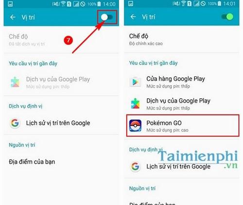 Sửa lỗi Failed to detect location khi chơi Pokemon Go, lỗi