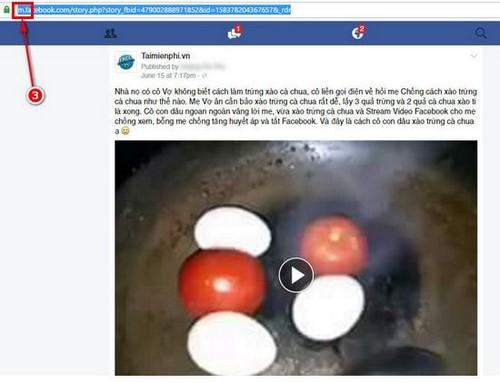 Tải video Facebook không cần phần mềm về máy tính, Laptop