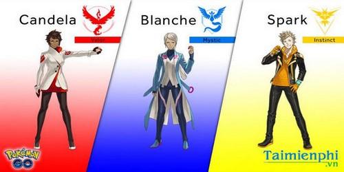 chon team pokemon go nen chon doi nao