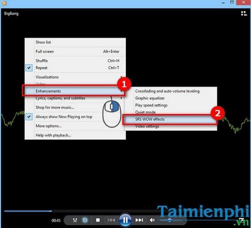 10 tính năng ẩn thú vị trên Windows Media Player