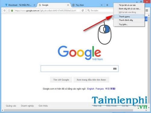 Tìm kiếm trên Firefox, search từ khóa nhanh trên Firefox
