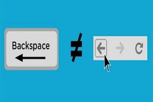 Cách khắc phục lỗi Backspace trên Chrome, lỗi back lại trang trước