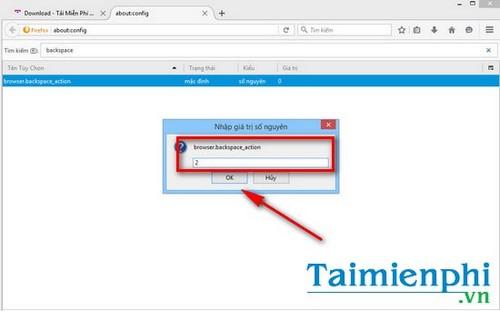 Cách vô hiệu hóa nút BackSpace trên Chrome và Firefox