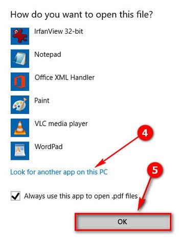 huong dan cach doi trinh doc pdf mac dinh tren windows 10