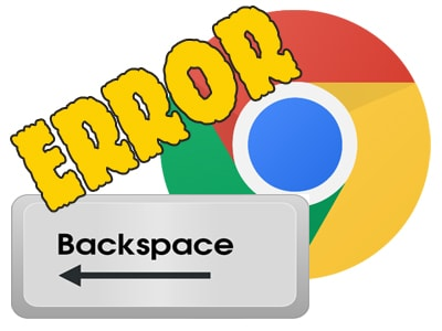 sua loi backspace tren chrome, khac phuc loi backspace tren chrome