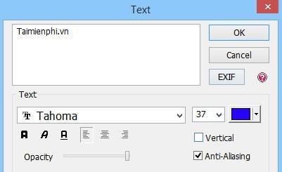 Thêm chữ vào PhotoScape, chèn chữ vào ảnh trong PhotoScape