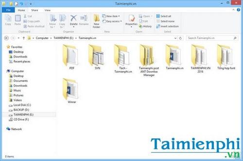 Ẩn, hiện thư mục, file trong Windows 7, 8, 8.1 trên máy tính 7