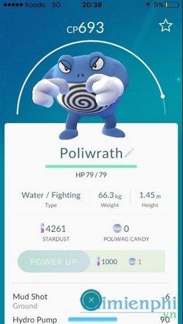 khac he trong pokemon go