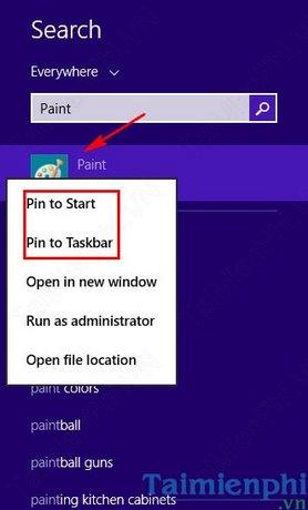 Cách mở Paint trên Windows 10, 8, 7, mở công cụ Paint