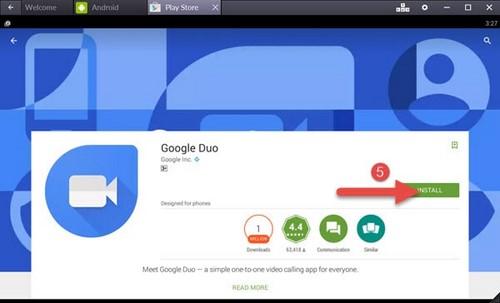 Cách sử dụng Google Duo trên máy tính