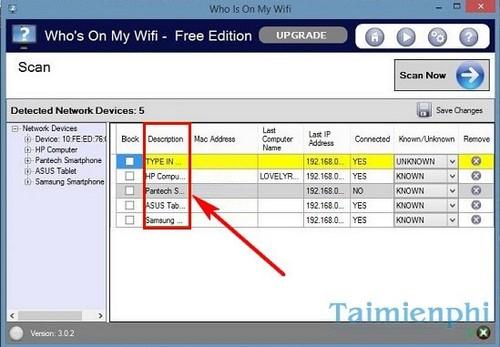Phần mềm chặn wifi, cấm truy cập wifi của người dùng laptop, điện thoại