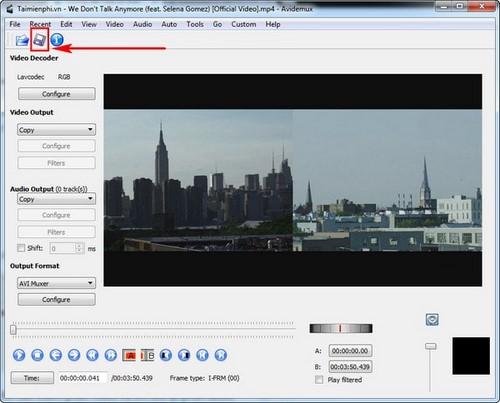 Chỉnh sửa video trên Avidemux, xóa âm thanh khỏi video, cắt video ...