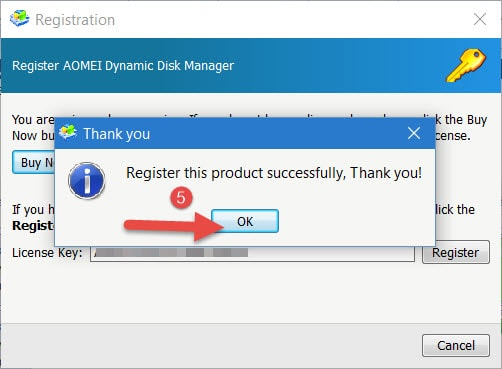 giveaway aomei dynamic disk manager pro mien Phi