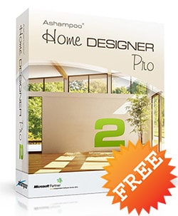 giveaway ashampo home designer pro
