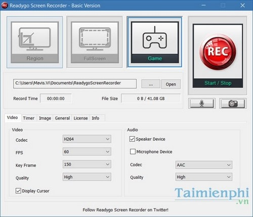 giveaway readygo screen recorder free