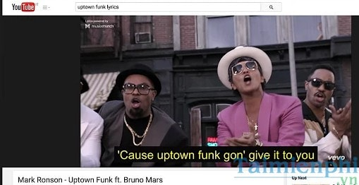 Mẹo hiển thị lời bài hát trên Youtube