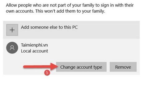 Phân quyền Admin cho User trong Win 7. 8.1, 10 13