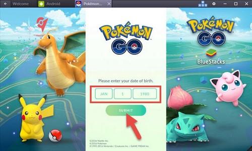 Cách chơi Pokemon Go trên PC, máy tính, Laptop bằng