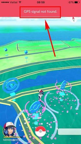 Sửa lỗi GPS not found khi chơi Pokemon Go